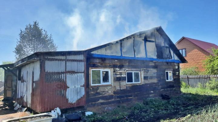Шестимесячный младенец сгорел в пожаре в Башкирии