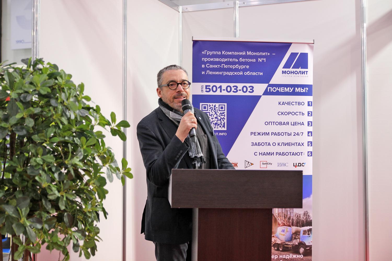 Председатель оргкомитета архитектурно-дизайнерского конкурса «Золотой Трезини» Павел Черняков