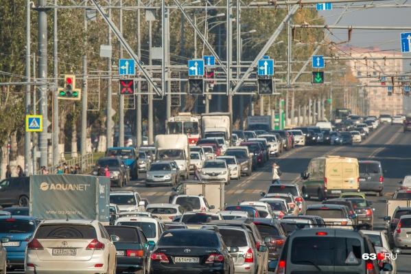 Главную городскую магистраль доведут до ума