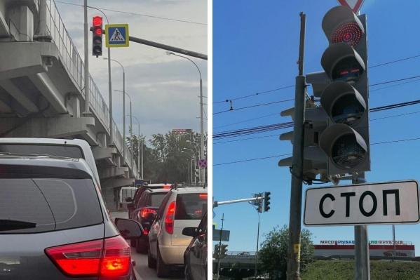 Квадратные светофоры придут на смену традиционным круглым