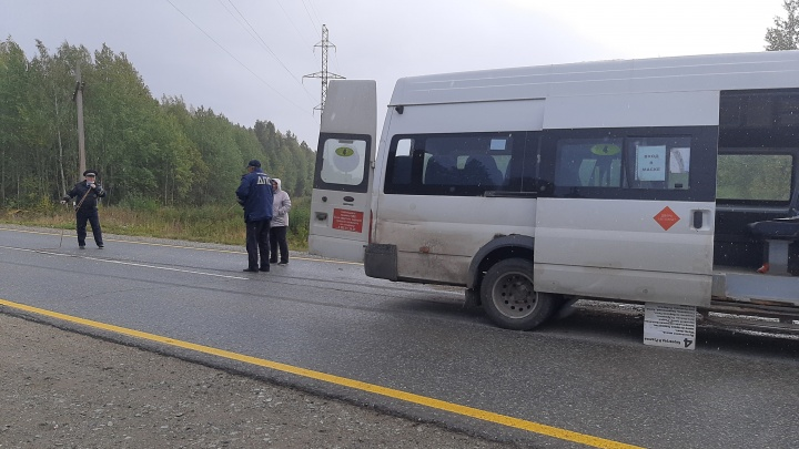На Урале УАЗ врезался в микроавтобус с пассажирами: в аварии пострадал ребенок
