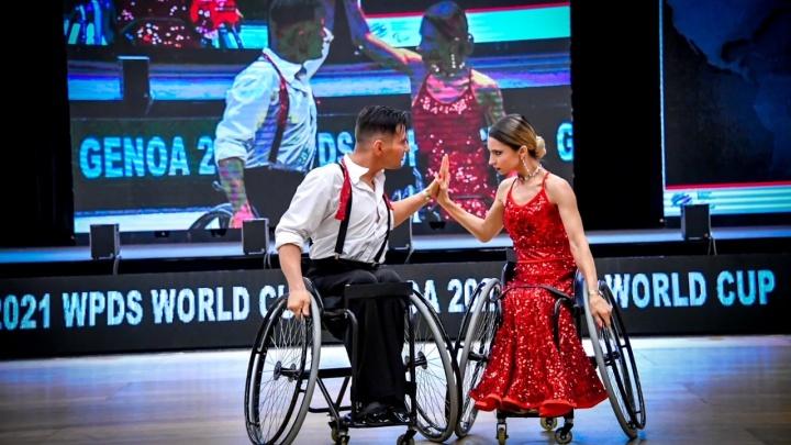 Пермяки победили в Кубке мира по танцам на колясках
