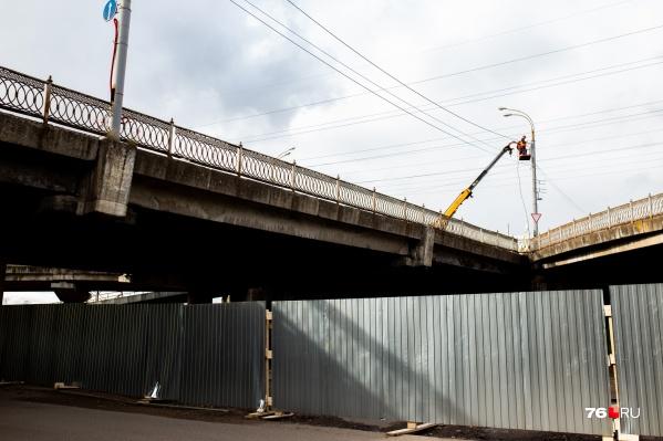Мост будут ремонтировать