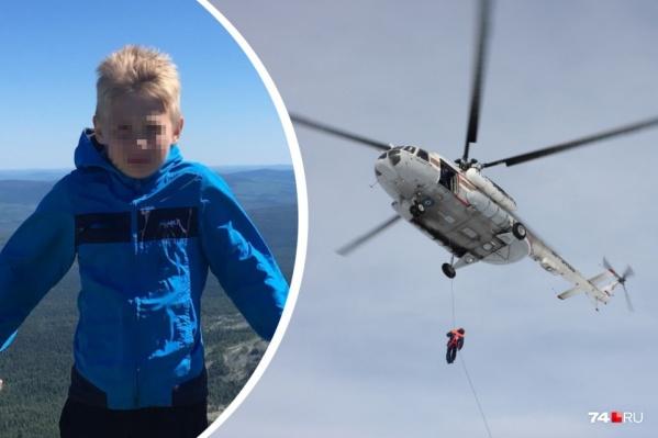 При обнаружении мальчика с воздуха спасатели смогут десантироваться