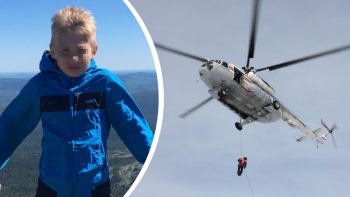 К поискам девятилетнего сына пастора из Челябинска подключили вертолет