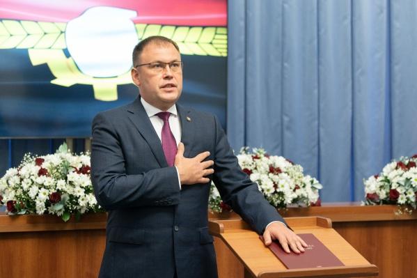 Илья Середюк занимает пост главы Кемерова 5 лет