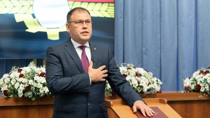Илья Середюк вступил в должность главы города Кемерова