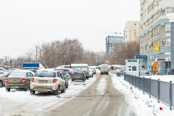 Так выглядит проспект в районе пересечения с улицей Советской Армии