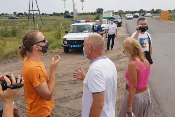 Жители поселков Среднеахтубинского района выступили против экоактивистов