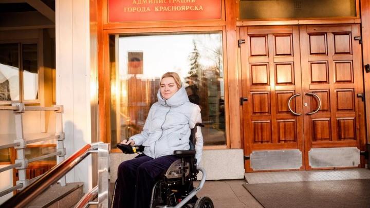 «Долго сомневалась, но решилась»: депутат-колясочник из Красноярска намерена участвовать в выборах в Госдуму