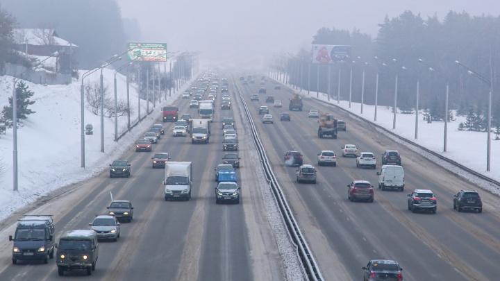 В Уфе на месяц запретят въезд большегрузов