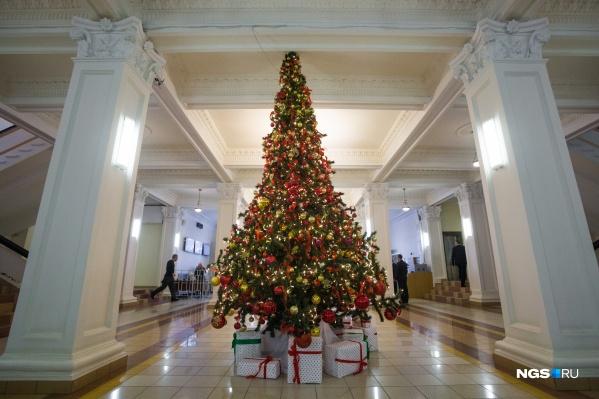 """До новогодних праздников еще полгода, но в мэрии решили подготовиться к ним <nobr class=""""_"""">заранее —</nobr> и объявили аукцион на поставку елей"""