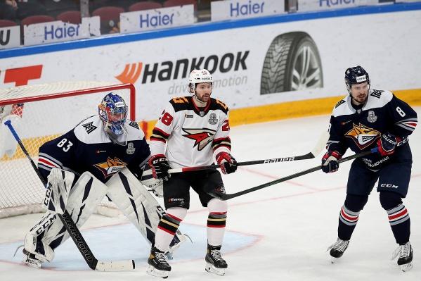 Сергей Толчинский открыл счет в матче и выиграл