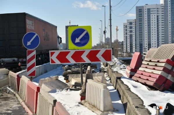 Жителям Березовского все лето придется добираться до Екатеринбурга окольными путями