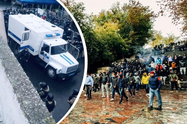 Во Владимире прошли задержания болельщиков