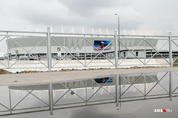 Новый переход пройдет в створе стадиона