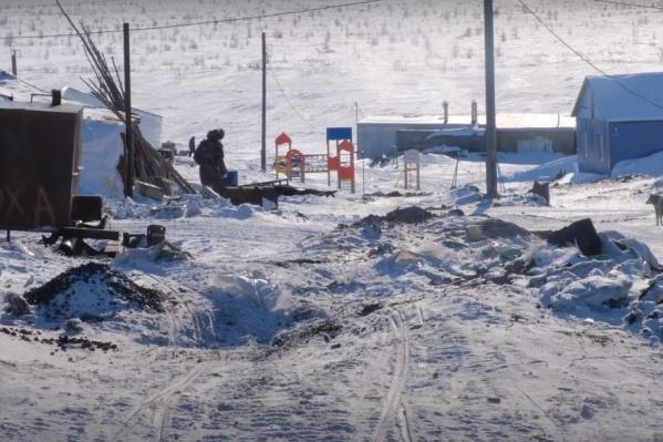 Журналисты показали жизнь маленького поселка