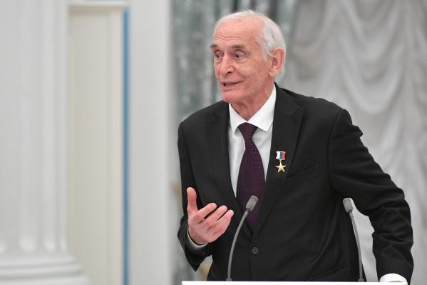 Василий Лановой в 2019 году на вручении медалей Героя Труда в Кремле