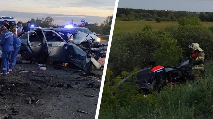 Лоб в лоб: названа причина ДТП с двумя погибшими в Новокуйбышевске
