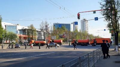 В Уфе сегодня перекроют проспект Октября из-за военного парада в честь Дня Победы