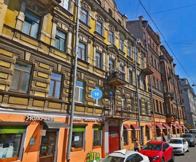 Некрасова, 16<br><br>скриншот с сайта «Яндекс.Карты»