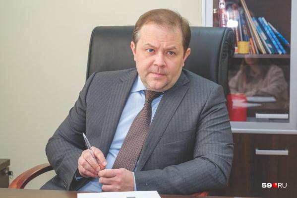 Павел Новосёлов стал региональным уполномоченным по правам предпринимателей осенью 2020 года