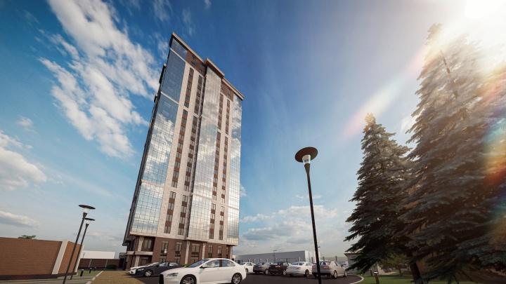 Культурный жилой дом построят возле ГПНТБ: свечку в 25 этажей возведут меньше чем за два года