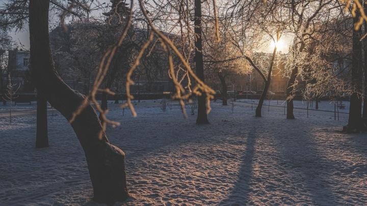 Мороз и солнце: синоптики рассказали о погоде на неделю в Прикамье