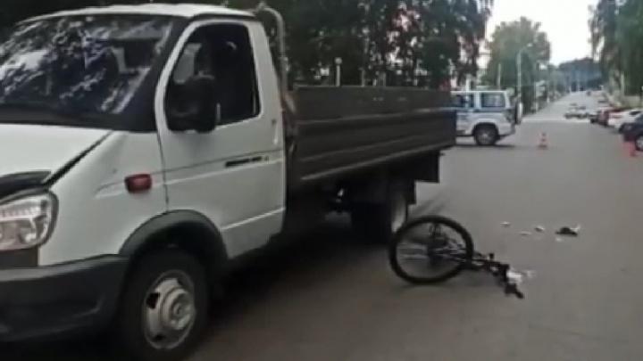 В Башкирии 10-летний велосипедист попал под колеса «Газели»