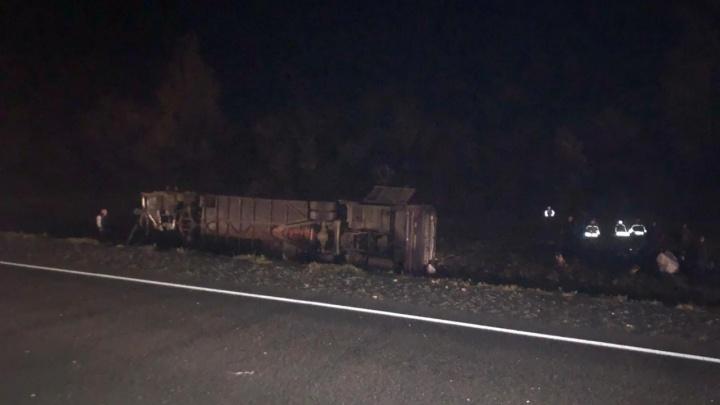 На трассе М-5 пассажирский автобус столкнулся с легковушкой, есть жертвы