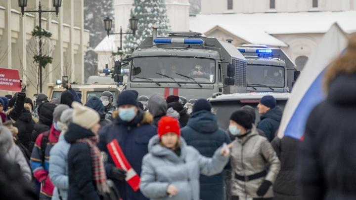 Полиция предупредила ярославцев об ответственности за участие в воскресной акции протеста