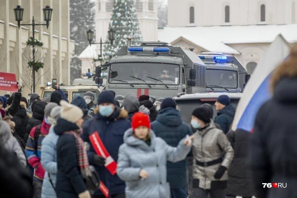 Полиция предупридила ярославцев об ответственности