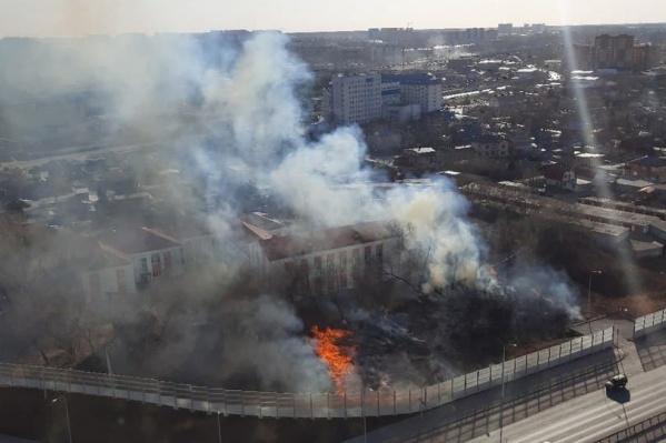 Спасатели вовремя ликвидировали возгорание