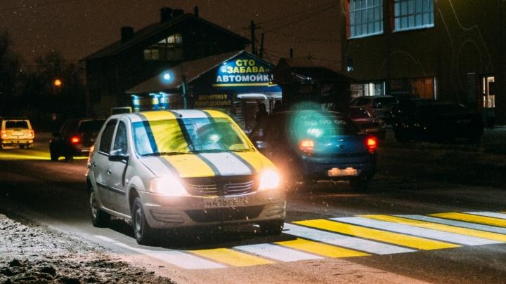 На проекционные «зебры» в Омске выделили 2,7 миллиона рублей. Где они появятся?