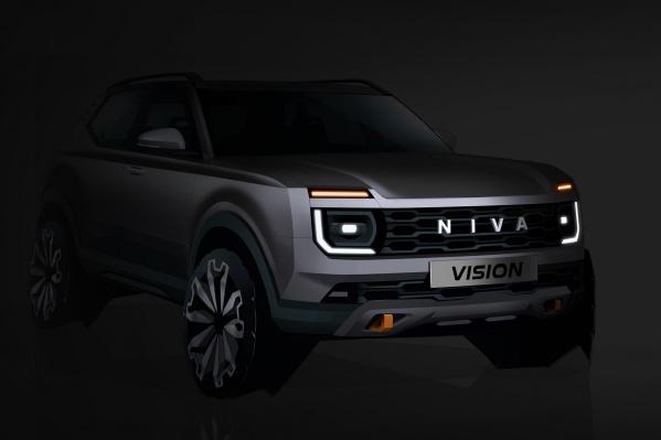 Концепт Vision намекает на внешность новой Lada Niva, которую построят на платформе Renault CMF-B
