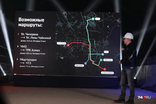 У региональных властей на метротрам в Челябинске грандиозные планы