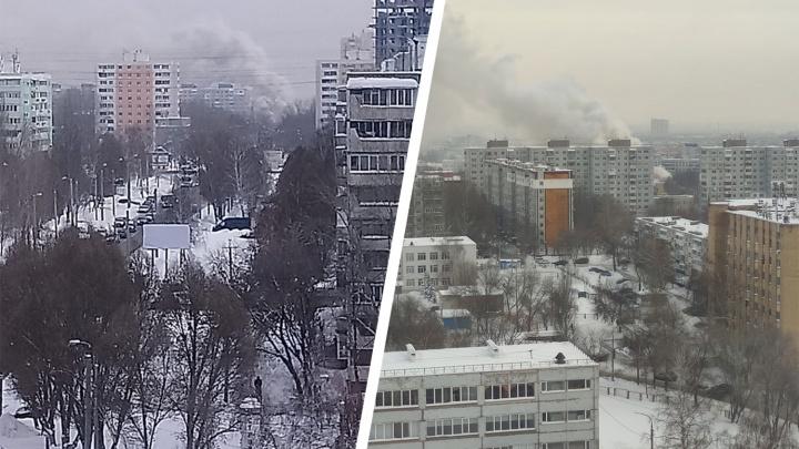 «Дымило — жуть!»: в Самаре сгорело одно из зданий православной церкви