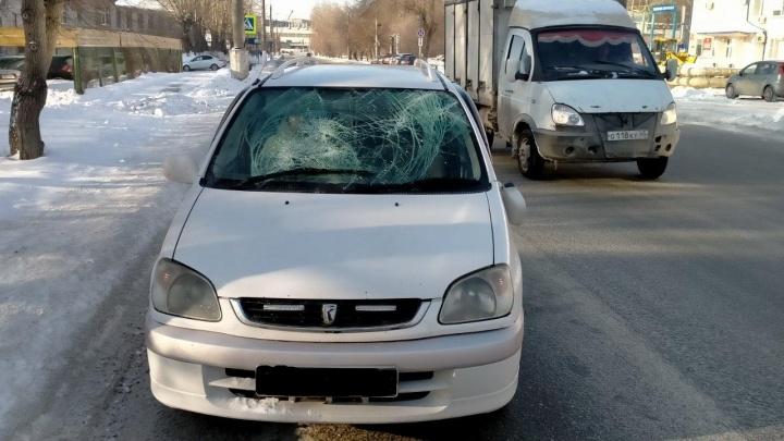 В Кургане за сутки сбили двух пешеходов