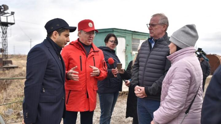 Генеральный директор БСК Эдуард Давыдов приехал на место альтернативы Куштау