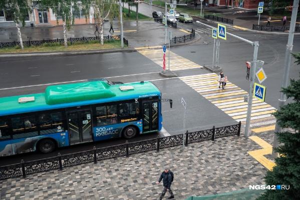Инцидент произошел возле АЗС на улице Херсонской
