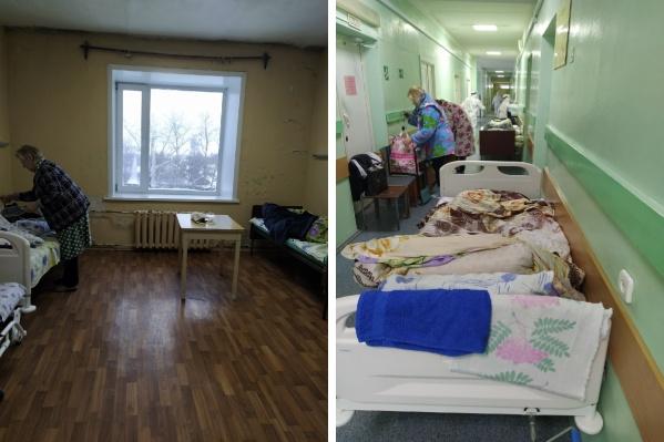 Утром четырех женщин выселили из проблемной палаты в коридор