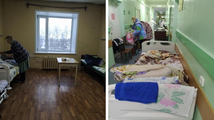 После жалобы в СМИ северянок выселили из холодной палаты с плесенью в больнице №4 в Архангельске