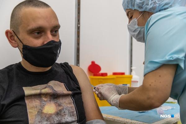 Больше всего в пунктах вакцинации Новосибирска доз вакцин «Спутник V»