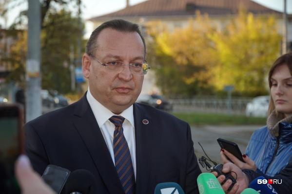 Дмитрий Красильников ответил на вопросы журналистов