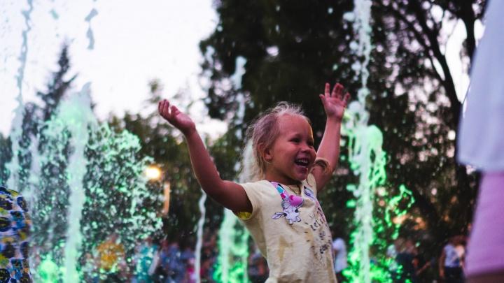 200 квадратных метров восторга: как в Парке 30-летия ВЛКСМ открывали новый фонтан