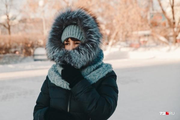 Морозы отступят только к концу недели
