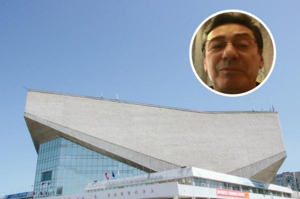 Сергей Шелпаков возглавлял «Омичку» в 2015 году