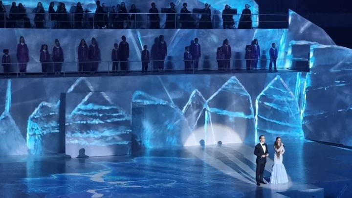 В Самаре торжественно открыли Дворец спорта