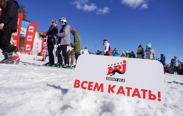 Горячая суббота на горнолыжном склоне: слушатели Energy зажгли на Energy in the Mountain