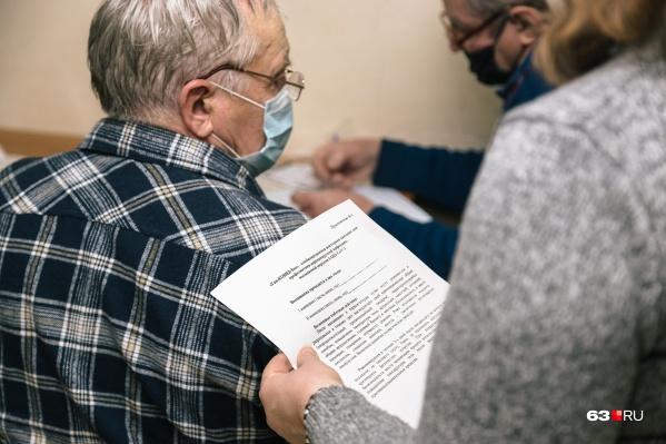 Пожилых вакцинированных в Самарской области меньше, чем нужно. Так говорят власти